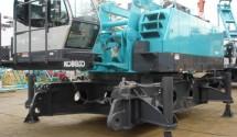 250 tons crawler crane Kobelco 7250, year 2011 c/w 51.8m main boom,exSingapore yard. PDF Specification Sheet: Kobelco 7250-2 Price: US$1,605,000.00