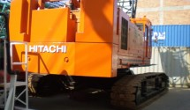 65 tons heavy duty crawler. PDF Specification Sheet: Hitachi KH250HD data Price: Call for Price