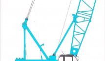 70 tons Kobelco CKE 700 c/w 140′ boom, ex Singapore yard. PDF Specification Sheet: KOBELCO CKE700-1F Price: US$720,000.00