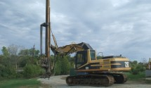 Used 1997 CATERPILLAR Model 322BL Tieback Drill Rig, s/n 2ES00238, powered by Cat 3116DIT diesel engine and hydraulic drive, equipped with 2005 Bayshore custom made hydraulic tieback drill attachment, s/n […]